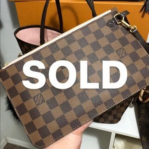 *SOLD*Louis Vuitton Pouch/Clutch/Wristlet